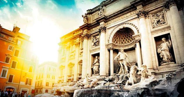 Romantik Roma'da bir gün