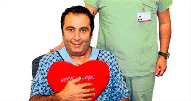 Kalp damarı yırtılan hasta operasyonla kurtarıldı