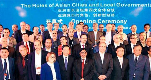 Başkan Fatma Şahin Çin'de Gaziantep'i anlattı