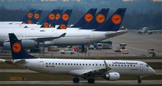 Lufthansa'da grev devam ediyor