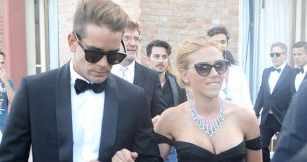 Scarlett Johansson evlendi