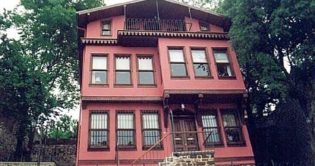 Tarihi Pembe Köşk, restore ediliyor