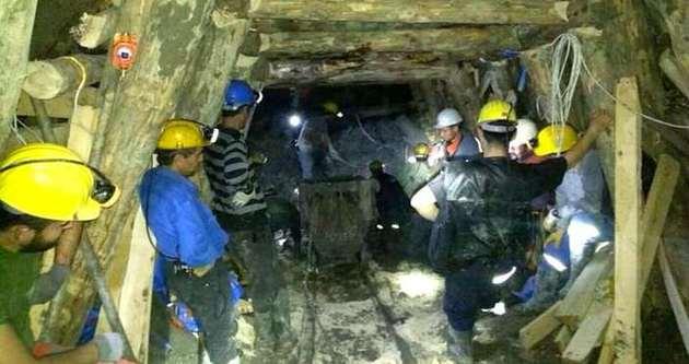 Ermenek'te işçilere ulaşmak için 12 bin 500 ton su boşaltıldı
