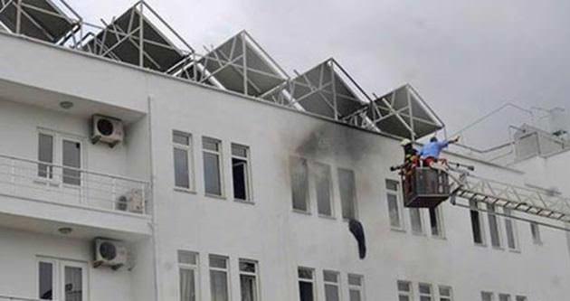 Mehmet Ali Yılmaz Tesisleri'nde yangın paniği
