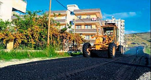 İskenderun asfaltlanıyor