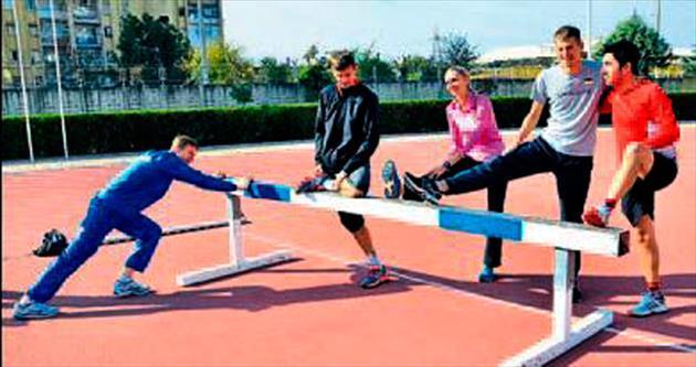 Atletler Adana'ya hayran kaldı