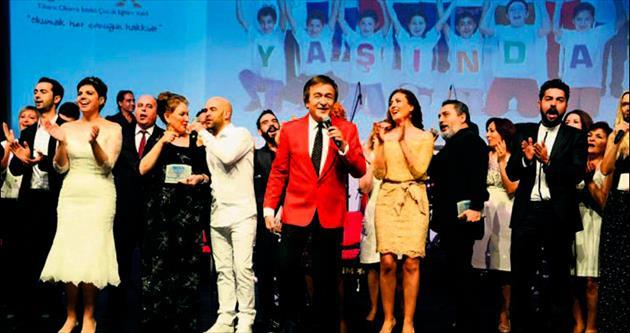 TOÇEV'in 20. yılına müzik dolu kutlama