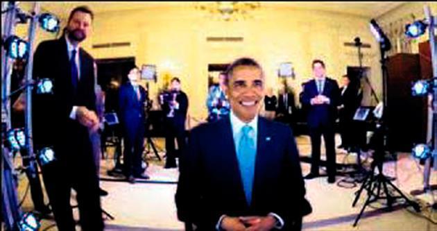 3 boyutlu Obama!