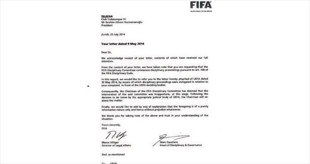 FIFA takipte