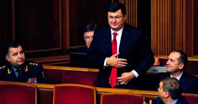 Ukrayna'da 'ithal' bakanlar görevde