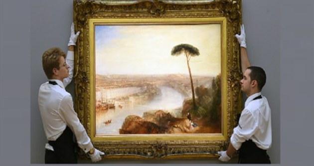 Turner'ın eseri, rekor fiyata alıcı buldu