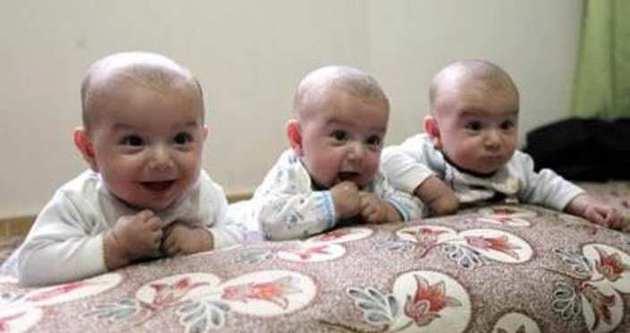 Üçüz bebeklere Fatma Şahin sahip çıktı
