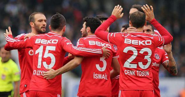 Beşiktaş'tan kupada gol şov!