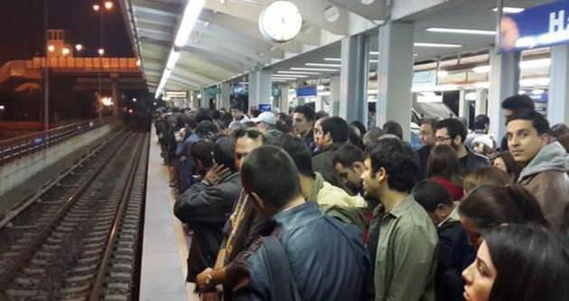 İzmir metrosunda isyan