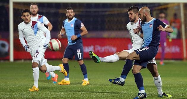 Trabzonspor 1 puanı zor kurtardı