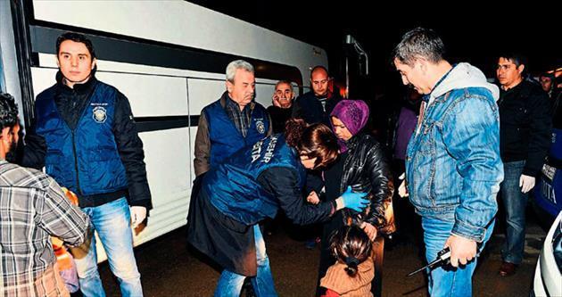 Suriyeli dilencilere zabıtadan operasyon