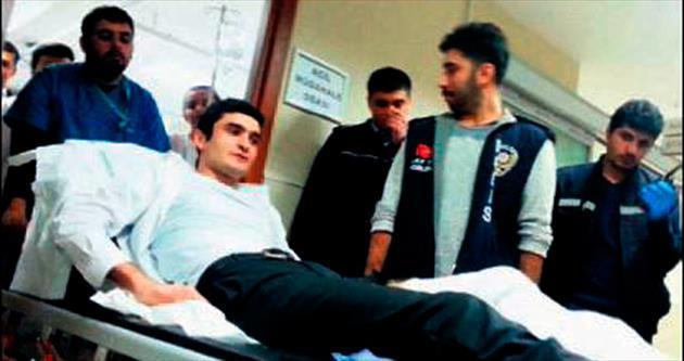 Başbakanlık ofisinde polis kazası