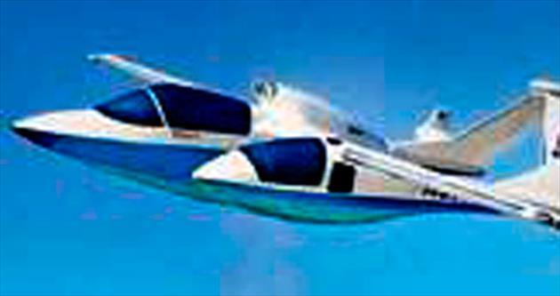 Manzaralı uçuşa üç kabinli uçak