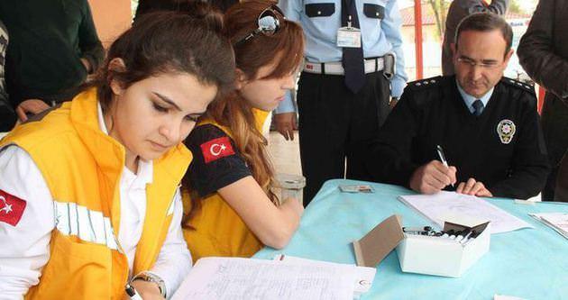 Fethiye polisinden organ bağışı