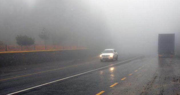 Zonguldak'ta ulaşıma sis engeli