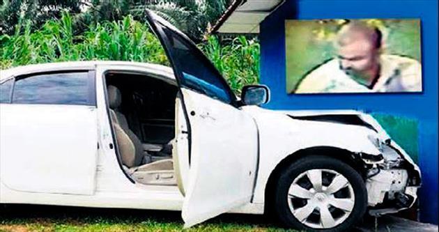 Türk Büyükelçiliği'nden otomobil çald
