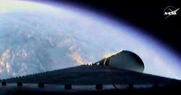 Mars için test uçuşu tamam