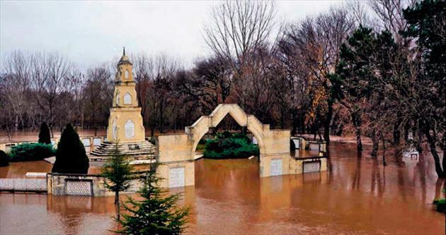Meriç taştı Edirne battı