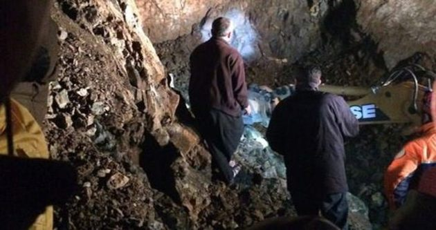 Krom madeninde göçük: 1 ölü 1 yaralı!