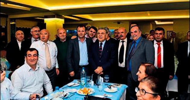 Turizm fuarında başkanlar buluştu