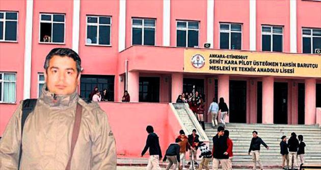 Okul müdürü darp edildi