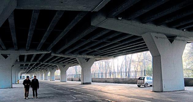 Fatih Köprüsü'nün altında hapçı tacizi