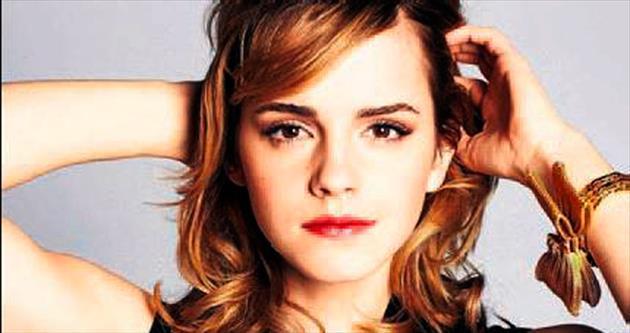 Emma Watson Uçan Süpürge'de