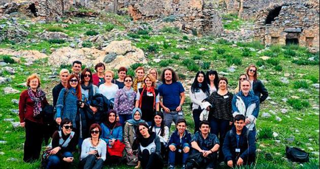 Avrupalı öğretmenler Anamur'da ağırlandı