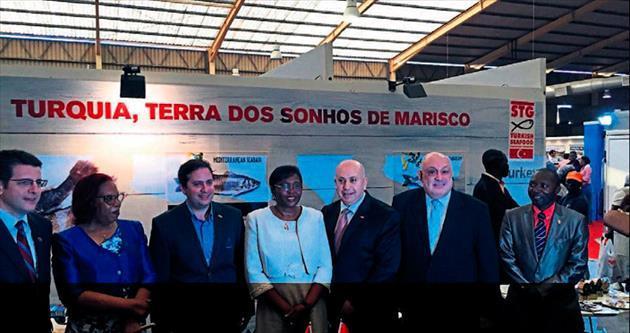 Afrika pazarı için Angola çıkartması