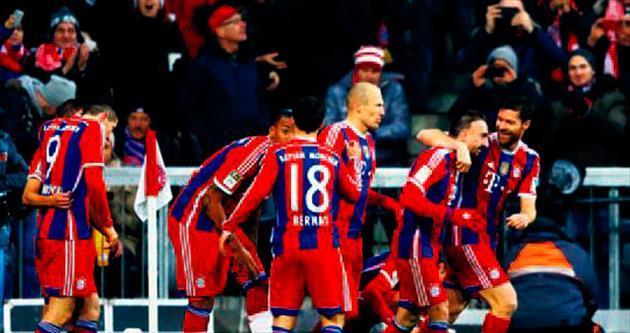 Bayern'e tek gol yetti