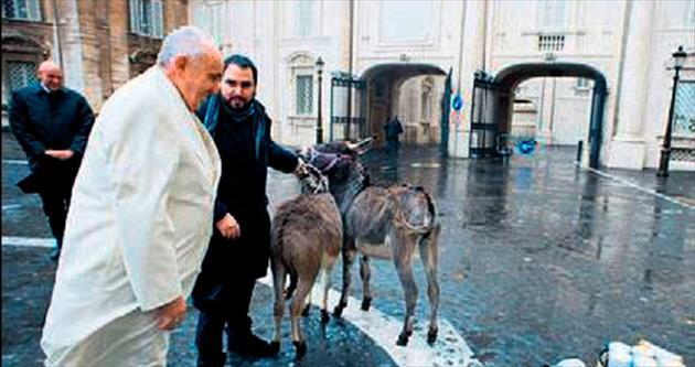 Papa: Çocukken eşek sütü içerdim