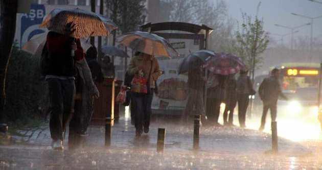 Meteorolojiden bu illere yağış uyarısı