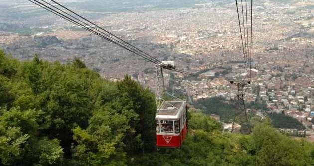 Dünyanın en uzun teleferiği Bursa'da olacak