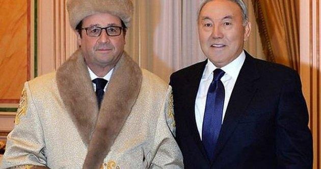 Hollande'ın bu fotoğrafı anında silindi