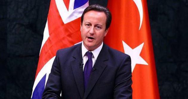 İngiltere Başbakanı Cameron Türkiye'ye geliyor