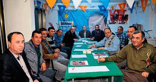 Gölhisar AK Parti ilk toplantısını yaptı