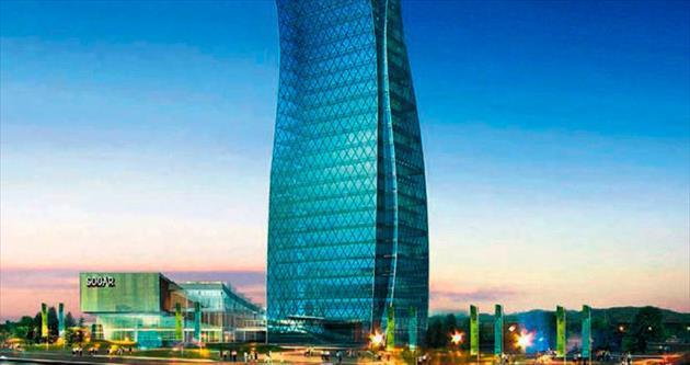 Azerbaycan'ın vitrinine Türk imzası