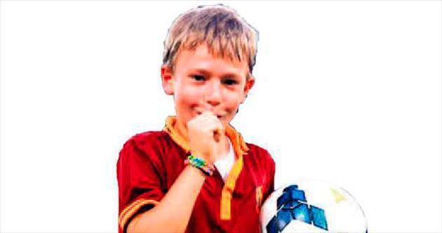 Babasının oğlu Cristian Totti!