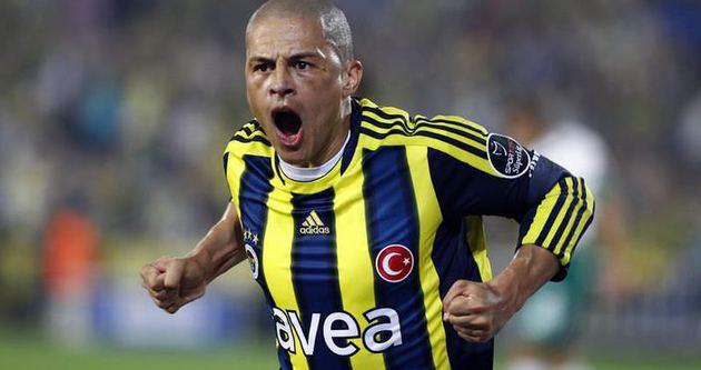 Fenerbahçe'den Alex'e sürpriz mesaj