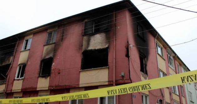 Karısı evi terk etti binayı havaya uçurdu
