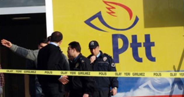 Kartal'da PTT soygunu