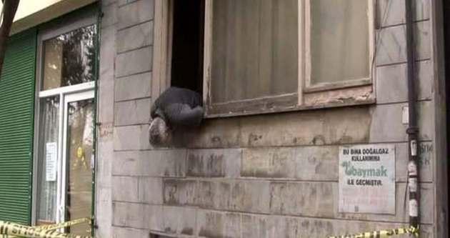 Ölüm pencerede yakaladı!