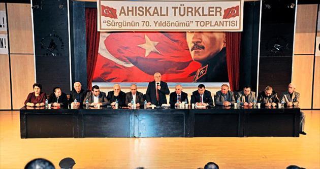 Ahıska Türkleri hak arıyor
