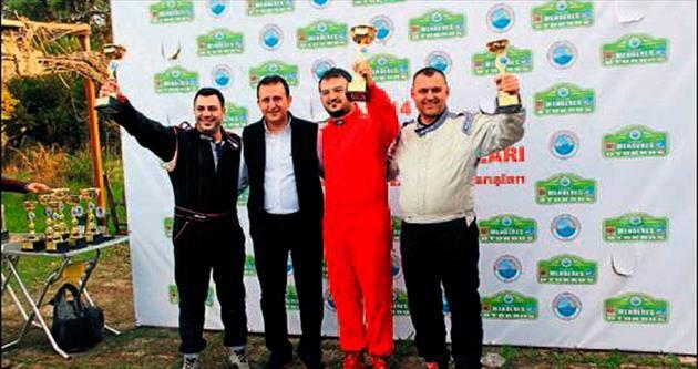 Otokros Pisti'nde ilk yarışlar yapıldı
