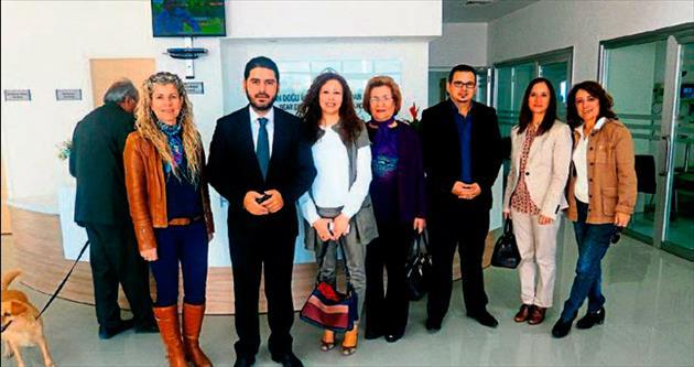 YDÜ Hayvan Hastanesi gezenlerden övgü alıyor